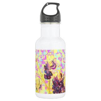 bluebonnet wildflowers 18oz water bottle