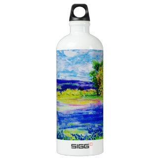 bluebonnet wildflowers SIGG traveler 1.0L water bottle