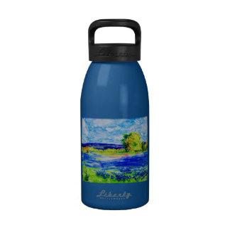 Bluebonnet  Wildflowers Drinking Bottle