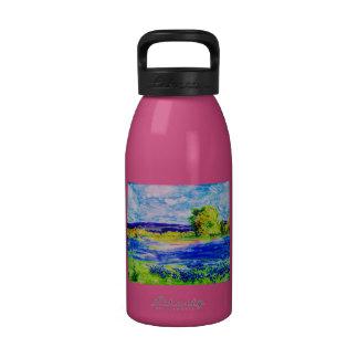 Bluebonnet  Wildflowers Reusable Water Bottles