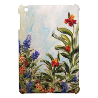 Bluebonnets and Canna Lilies Case For The iPad Mini