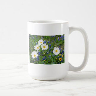 Bluebonnets and Poppies Coffee Mugs