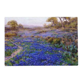 Bluebonnets at Twilight, North of San Antonio Placemat