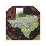Bluebonnets de Tejas Lona Estirada Galerias