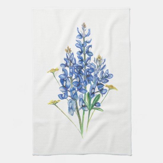Bluebonnets Kitchen Towel