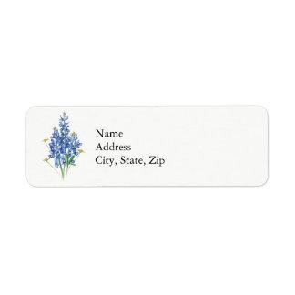 Bluebonnets Label