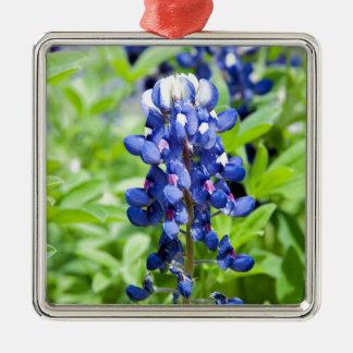 Bluebonnets Metal Ornament