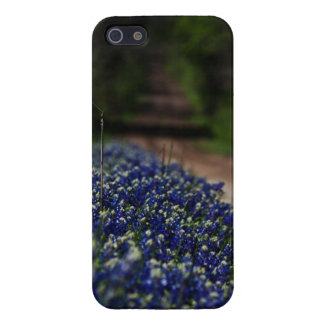 Bluebonnets on a Country Road iPhone 5 case