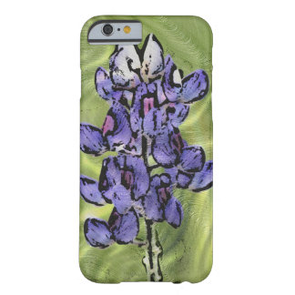 Bluebonnets Painting Digital Art Phone Case