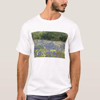 Bluebonnets, primrose, and phlox T-Shirt