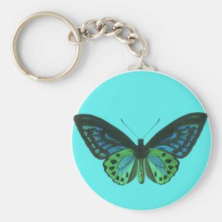 bluebutterfly keychain