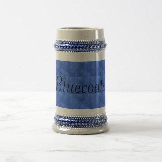Bluecoats Beer Stein