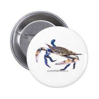 BlueCrabBlues Collection Pinback Buttons