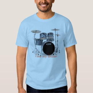 bluecx, I love my drums! Shirt