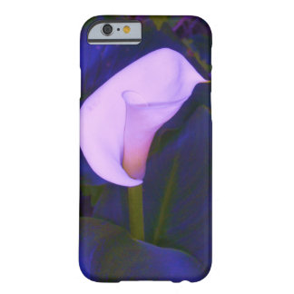 Blued Arum Lily Barely There iPhone 6 Case