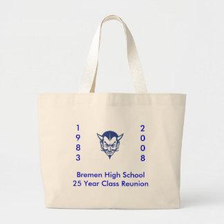 BlueDevil, Bremen High School25 Year Class Reun... Canvas Bag