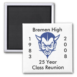 BlueDevil, CLASS, 1983, Bremen Hig... - Customized Magnet