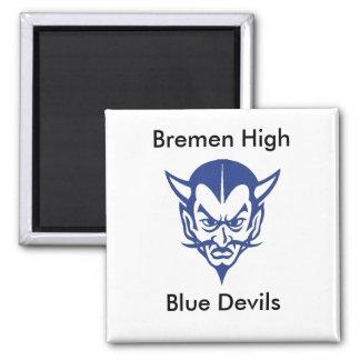BlueDevil, CLASS, Bremen Hig... - Customized Magnet