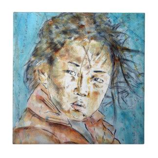 bluefaerytale. to buddha ceramic tile