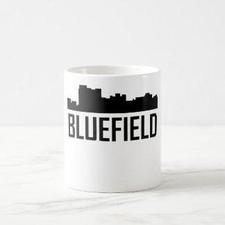Bluefield West Virginia City Skyline Coffee Mug