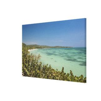 Bluefields, Jamaica Southwest Coast Canvas Print
