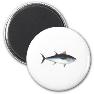 Bluefin Tuna 2 Inch Round Magnet