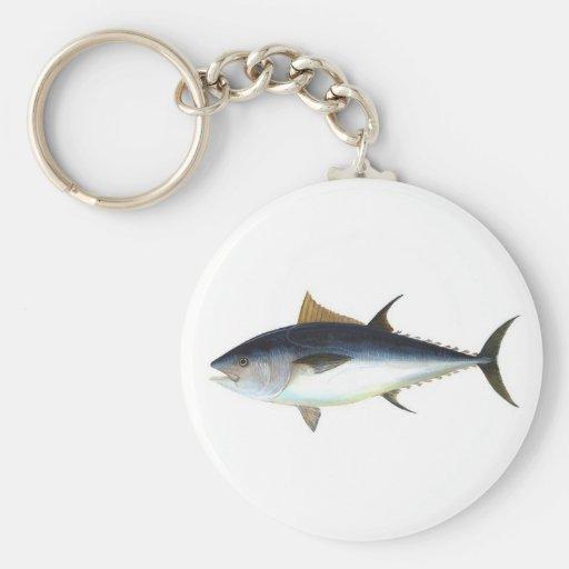 Bluefin Tuna Basic Round Button Keychain