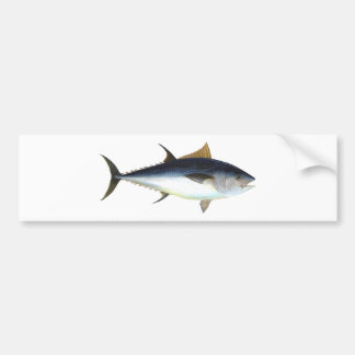 Bluefin Tuna Bumper Sticker