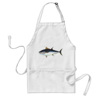 Bluefin Tuna illustration Adult Apron