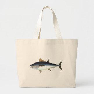 Bluefin Tuna illustration Canvas Bags