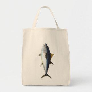 Bluefin Tuna illustration Tote Bag