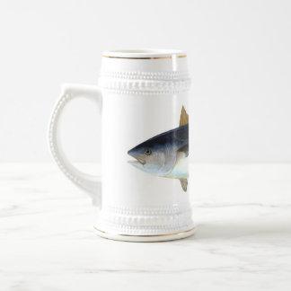 Bluefin Tuna illustration Beer Stein