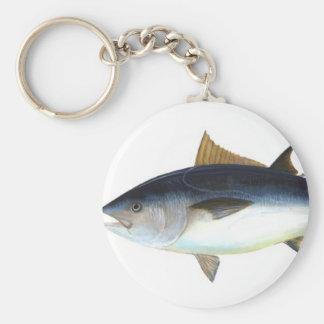 Bluefin Tuna illustration Keychain