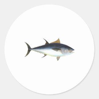 Bluefin Tuna Classic Round Sticker