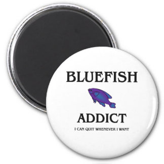 Bluefish Addict 2 Inch Round Magnet