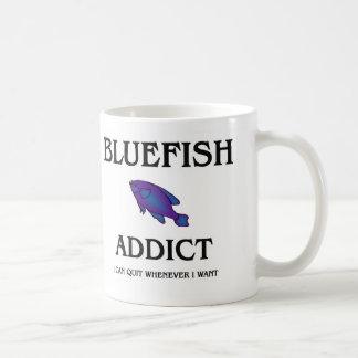 Bluefish Addict Classic White Coffee Mug