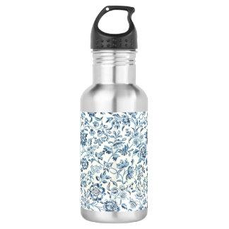 BlueFlower 18 oz. Stainless Steel Stainless Steel Water Bottle