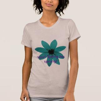blueflower, Wow! Spring has sprung! T-Shirt