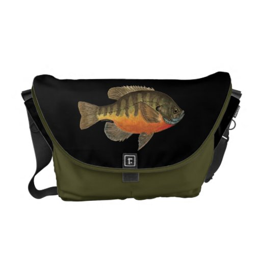 Bluegill Bream Courier Bags