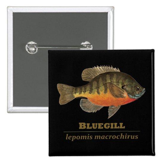 Bluegill Bream Fishing Button