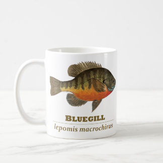 Bluegill Bream Fishing Coffee Mug
