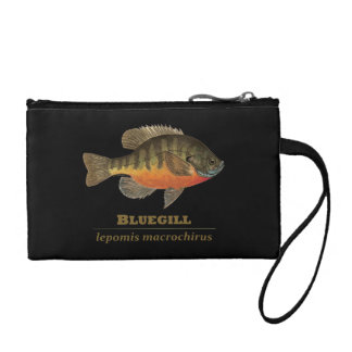 Bluegill Bream Fishing Coin Purse