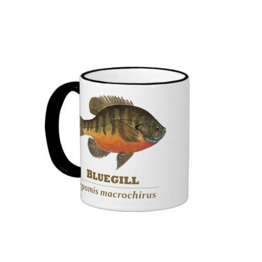 Bluegill Bream Fishing Ringer Mug