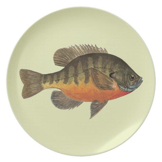 Bluegill Bream Plate
