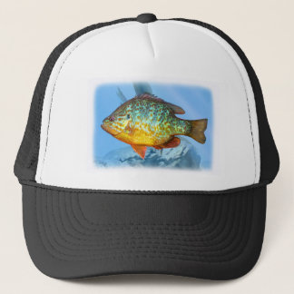 bluegill fish trucker hat