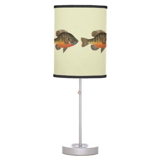 Bluegill Fishing Table Lamp