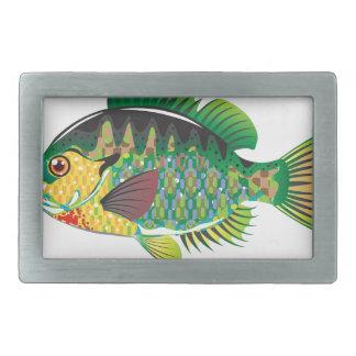 Bluegill Panfish Vector Belt Buckle