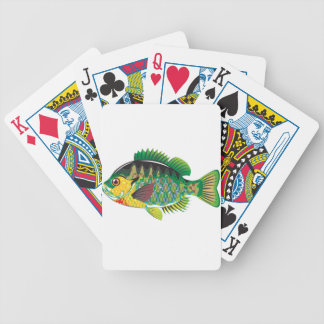 Bluegill Panfish Vector Bicycle Playing Cards
