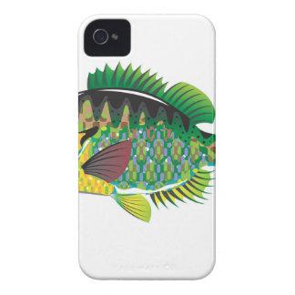 Bluegill Panfish Vector iPhone 4 Case-Mate Case