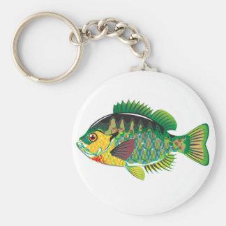 Bluegill Panfish Vector Keychain